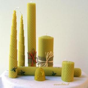 Bičių vaško žvakės